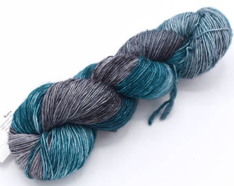 Kara Varigated SW Merino Singles Fingering Weight Hand Dyed Yarn - In Stock