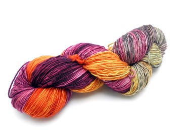 66 Sunset Variegated Hand Dyed Yarn - Made to Order