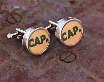 Typewriter Cuff Links, Gift Idea For Him, Fathers Day, Graduation Gift