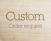 Custom Order Request: Vintage Carnival Alphabet Monogram Bookmarks