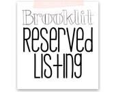 Reserved Listing- Adele Fashion Illustration Print-Brooklit