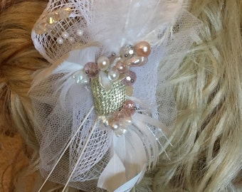 You hold my heart - Hair Fascinator
