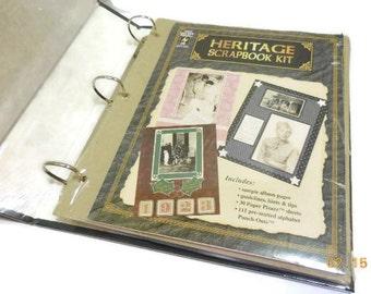 Heritage Scrapbook Kit
