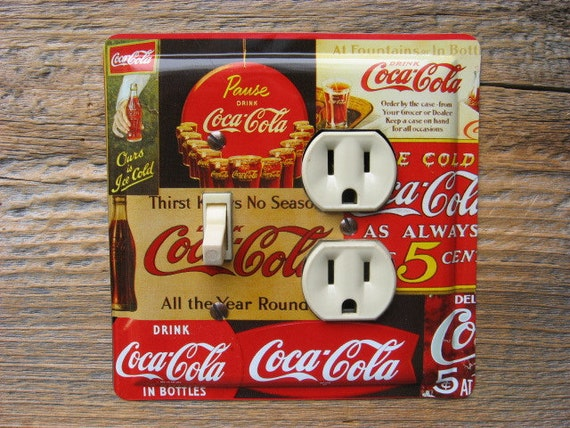 Https Www Etsy Com Listing 185525907 Coca Cola Decor Kitchen Diner Theme