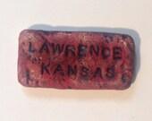Set of 2 Lawrence KS magnets