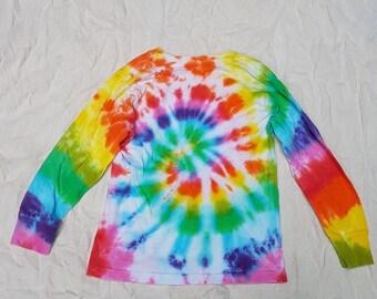 SALE 30% OFF Tie Dye Long Sleeve Shirt - child 5-6 years