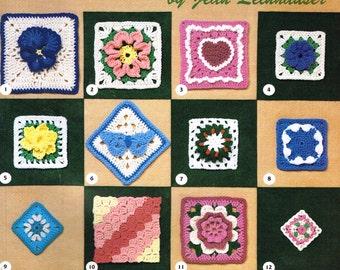 101 Crochet Squares crochet pattern book