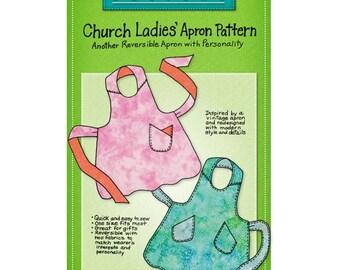 Mary Mulari Designs CHURCH LADIES' APRON Sewing Pattern