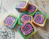 Polymer Clay Beads by TLS Clay Design