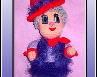 Red Hat Dallas Doll Crochet Patterns. crochet cowboy hat, crochet doll, crochet cowgirl