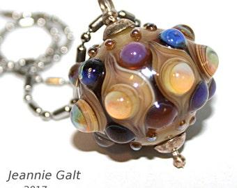Lampwork  Art Jewelry by Jeanniesbeads #1875