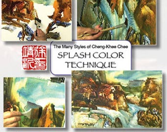 Splash Color Technique