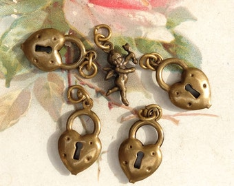 Hearts and Cherub Charms Supply Finding