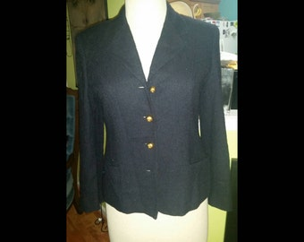 Classic and Chic Vintage Lord & Taylor Boucle Blazer Jacket