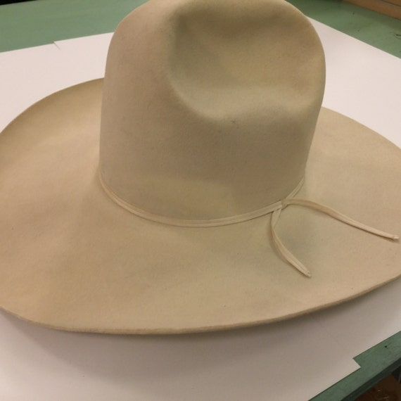 NUDIE Vintage COWBOY HAT 10 Gallon Vintage Cowboy Tom Mix Resistol ... 10 Gallon Cowboy Hat Front