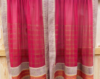 Vintage Sari CURTAINS
