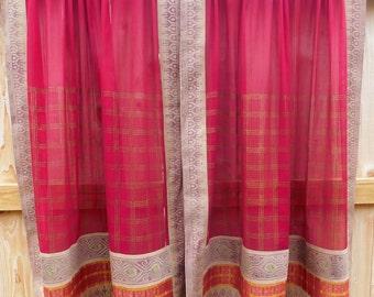 Vintage Sari CURTAINS
