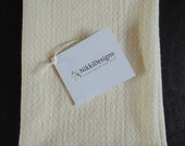ONE DAY SALE Organic Cotton  Dish Cloth/TeaTowel, Natural, Hand Towel