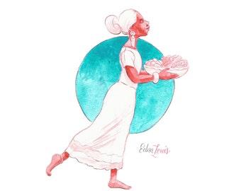 Edna Lewis-Print
