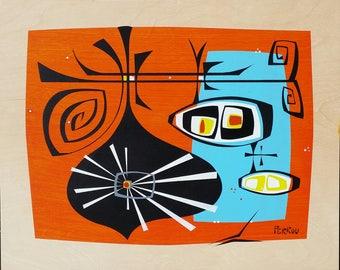 Orian -original painting shipped free