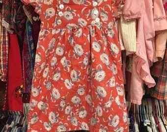 Handmade Dress 3/4T