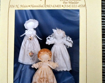 Hickory Stick & Co. Linen Ladies  Complete 12 inch Soft Sculpture dolls from Hand Towels