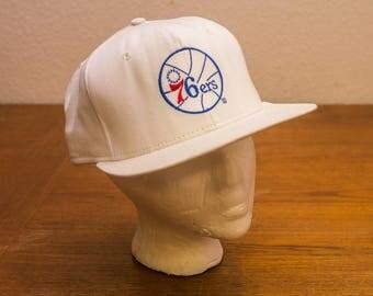 1990s Philadelphia 76ers NBA Snapback Hat