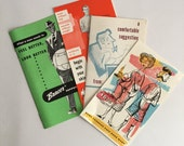 Jockey Men's Underwear Advertising Vintage Pamphlet Paper Ephemera Store Pamphlet 1950's MadMen Advertising Clothing