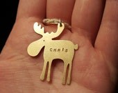 Personalised Christmas Moose decorations, christmas decoration, personalised Christmas Decoration