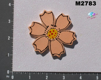 Flower - Kiln Fired Handmade Ceramic Mosaic Tiles M2783