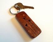 """Mahogany Wood """"Heart..."""
