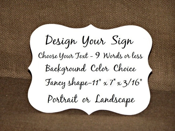Design a custom sign wood home decor gift create your own like this item junglespirit Gallery