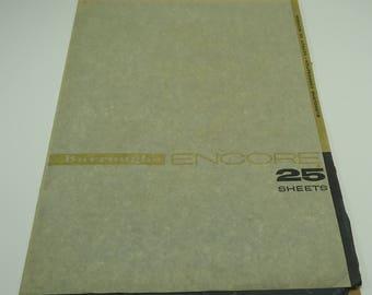 Burroughs Encore 15 Sheets Of Carbon Paper