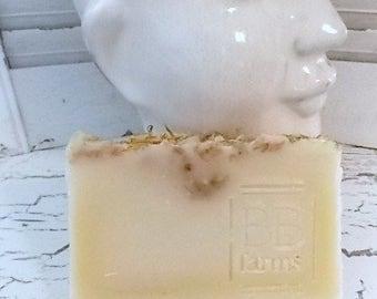 Homemade Large 5-6oz Bar of Natural Handmade Soap in LEMON VERBENA