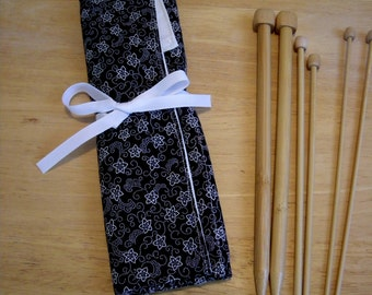 knitting needle case, knitting needle organizer, Knitting needle storage, knitting accessories, knitting needle holder