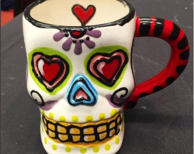 Sugar Skull Mug JUMBO