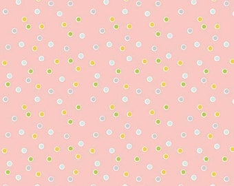 ON SALE Riley Blake Designs Sweet Orchard Dot Pink