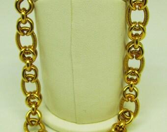 18Kt Gold Link Bracelet
