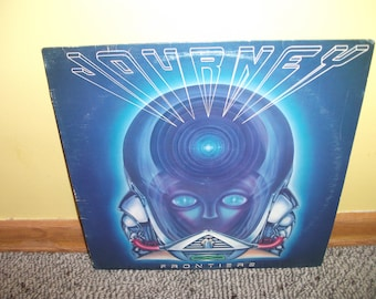 Journey Frontiers Vinyl Record album NEAR MINT condition 1983