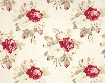 Westminster Antique Roses PETAL Tanya Whelan - Cotton Home Dec Fabric - 1 Yard