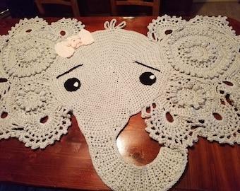 Exceptional Cute Elephant Rug