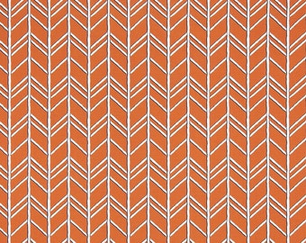 Bogatell Vintage Monarch - Orange and Navy - Premier Prints Fabric - Yardage