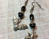 Bat Earrings Dangles...