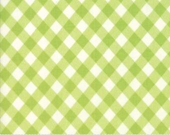 Basics (55124 34) Vintage Picnic Gingham Green Bonnie & Camille