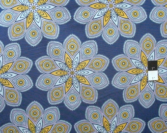 Joel Dewberry PWJD122 Wander Starlight Midnight Cotton Fabric By Yd