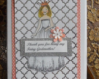 Thank You For Being My Fairy Godmother Card