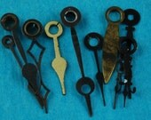 Vintage Antique Watch Parts Steampunk small Clock Hands Altered Art Industrial XR 68