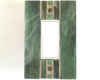 Light Switch Cover, Decorative Switch Plates, Decora Switchplate, Stained Glass Light Switch Plate, Dimmer Cover Plate, Outlet Cover, 8597