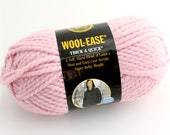 Lion Brand Wool-Ease Yarn. Thick. Blossom.
