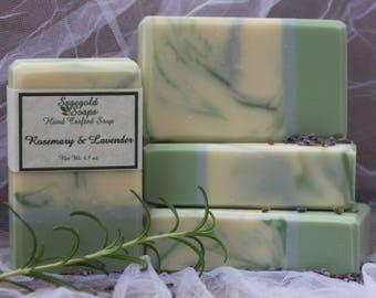 Rosemary & Lavender Handmade Artisan Soap